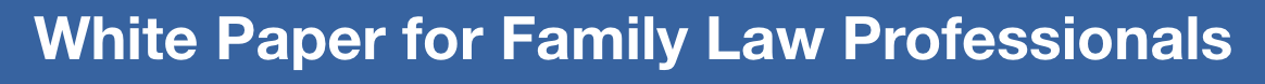 Read the White Paper for Family Law Professionals