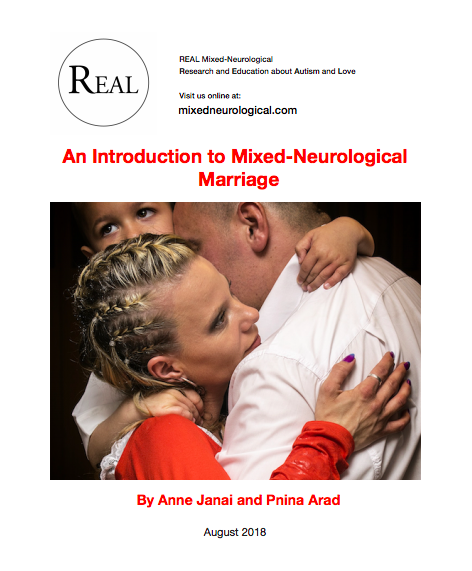 Thumbnail for the post titled: REAL White Paper: An Introduction to Mixed-Neurological Marriage